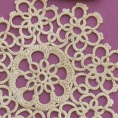 Video tutorial shows how to easily wind a tatting shuttle.