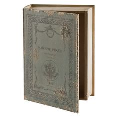 Vintage Style Book Box War and Peace  21x31x6.5