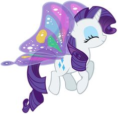 #142307 - artist:purplefairy456, butterfly wings, eyes closed, flying, glimmer wings, gossamer wings, pony, rarity, safe, simple background, solo, transparent background, unicorn, vector, wings - Derpibooru - My Little Pony: Friendship is Magic Imageboard