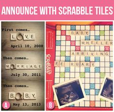 50 Creative Pregnancy Announcements | The Dating Divas