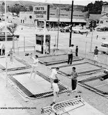 Taft's Trampoline Center - 1960