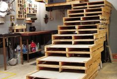 DIY OUTDOOR STEPS | diy pallet idea stairs diy pallet fort idea outdoor kitchen made from ...