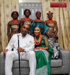 BellaNaija Bride Ibinabo & Groom | Delta Traditional Wedding | Gbenga Photography