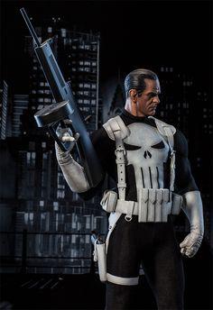 Estátua Marvel Premium Format do Punisher (Justiceiro) #Marvel