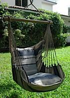 Living in a large city filled with bustle is absolutely easy to worry you out. For that reason, turning loosened up at residence with a hanging crib chair, likewise called a hammock chair, can help you refresh your mind. Hammock Chair Stand, Swinging Chair, Hanging Crib, Outdoor Furniture, Outdoor Decor, Cribs, Lazy, Beautiful Homes, Swimming Pools