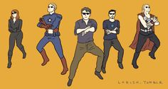 This is the best one. #gangnamstyle #avengers