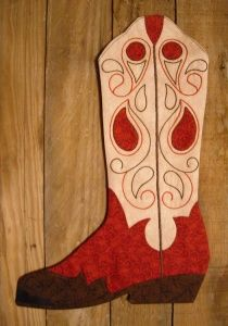 Cowboy Boot Stocking Pattern and Giveaway - Peas In A Pod