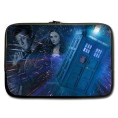 Sleeve for 10  10.1  Laptop Doctor Who TARDIS Matt