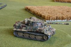 Tiger Tank for Flames of War from from 2nd Co. spab 101. Painted by Panzer Schule for Worlds at War.