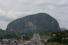 zuma rock, cloudy day by dolapo, via Flickr