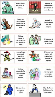 One-click print document French Flashcards, French Worksheets, Teaching French Immersion, French Practice, French Teaching Resources, Material Didático, French Education, Core French, French Grammar