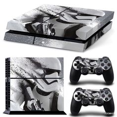 Good Xbox One Skin Design Foils Aufkleber Schutzfolie Set Faceplates, Decals & Stickers Video Game Accessories Black Blood Motiv Superior Materials