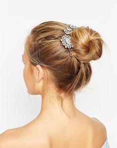 Yoillan rhinestone hair bun surround from ALDO for $27. Buy it here: http://justbestylish.com/10-best-hair-accessories-to-wear-this-summer/2/