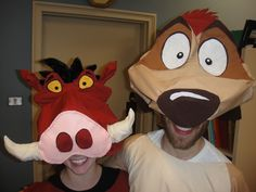 Pumba Lion King Costume