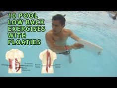 Aquatic Therapy & Chronic Low Back Pain: An Instructional Video for Occupational Therapists - YouTube