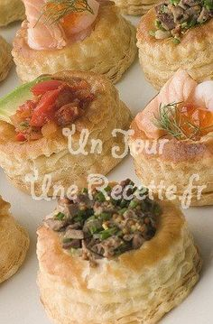 Photo de la recette Mini bouchées à la reine aux champignons