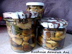 Polish Food, Polish Recipes, Pickling, Finger Food, Preserves, Mason Jars, Homemade, Canning, Thermomix