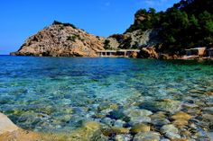 Ibiza fabulous coast and sea