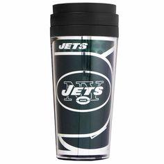 New York Jets Travel Tumbler | NFL Travel Tumbler | Travel Tumbler