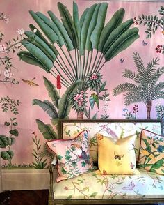 Tropical chinoiserie at DeGournay, Paris