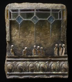 La nef Paper Mache Sculpture, Art Sculpture, Collages, Collage Art, Art Altéré, Box Art, Art Boxes, Found Object Art, Art Carved