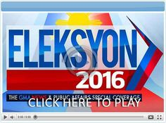 Eleksyon the GMA News and Public Affairs Coverage - Pinoy Show Biz Your Online Pinoy Showbiz Portal President Of The Philippines, Mindanao, House Of Representatives, Political Party, Presidential Election, Pinoy, Constitution, Affair