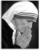 Mother Teresa (1910 -1997) She was a humanitarian who devoted her life to helping the poor, sick and orphaned in India. She devoted her life to God. She founded the Missionaries of Charity in 1950.  She won the Nobel Peace Prize in 1979.