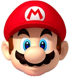 The first face is promo art from New Super Mario Bros for the Wii, so is about seven years old. The second is from the Mario run advertising, so is a The first face is promo art from New Super Mario Bros for the Wii, so is about s. Super Mario Party, Super Mario Games, New Super Mario Bros, Super Smash Bros, Nintendo Mario Kart, Nintendo News, Nintendo Switch, Mario Run, Mario Bros.