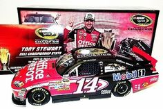 SIGNED 2011 Tony Stewart #14 Office Depot SPRINT CUP CHAMPION Lionel 1/24 NASCAR Diecast by Trackside Autographs. $219.95. For your viewing pleasure: *AUTOGRAPHED* 2011 Tony Stewart #14 Office Depot SPRINT CUP CHAMPION Lionel 1/24 Diecast. (#4127 of only 6,299 produced). This nice car has been hand-signed by Tony in silver on the windshield through a well-respected member of Global Authentication. You will receive a Certificate of Authenticity (COA) with your purchase, ...