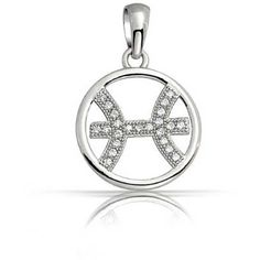 Bling Jewelry Bling Jewelry Sterling Silver Micro Cz Pisces Zodiac... (23 AUD) ❤ liked on Polyvore featuring jewelry, pendants, clear, sparkle jewelry, cubic zirconia pendant, charm pendant, pendant jewelry and chains jewelry