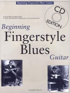Beginning Fingerstyle Blues Guitar (Book and  Library User Group
