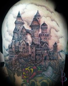 Castle Tattoo by greyfoxdie85.deviantart.com on @deviantART