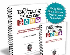 The Blogging Success Planner Created by one of the industry's Top Mom Bloggers!