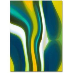 Trademark Fine Art Fury Stream 2 inch Canvas Art by Amy Vangsgard, Size: 24 x 32, Multicolor