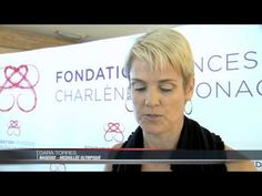 On May 24, 2013, Their Serene Highnesses Prince Albert II and Princess Charlene of Monaco arrived at the Yacht Club de Monaco to present new ambassadors of the Fondation Princesse Charlene de Monaco