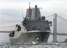 About 7.5 tons of steel salvaged from the World Trade Center is forged into the USS New York Naval Ship.