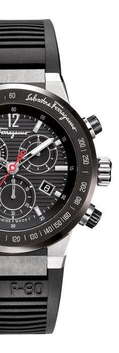 Gifts for Men | Salvatore Ferragamo Men's Watch | www.earthgear.com