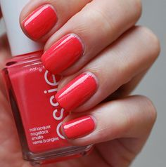 Essie Sunday Funday from the 2013 Summer collection. Perfect Coral