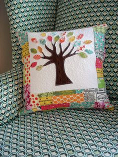 Anna, how about this pillow to go with your quilt?