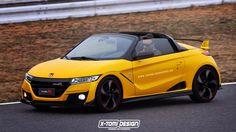 Honda S1000 Type rendering High Definition Wallpaper