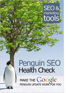The #Google #Penguin #SEO Health Check has been created to help you determine whether your #website is actually suffering from a penalty as a result of the Google Penguin #update and what to do next to help your website recover. #books
