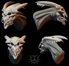 Skull Demon by Genesisnx