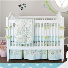 Oh yes!.....babybedding.com BeBe Jardin Crib Bedding