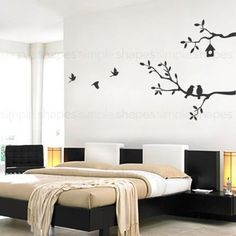 Birds and Branches Decal #SimpleShapes