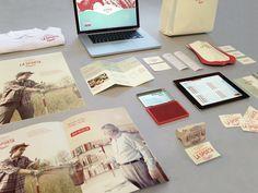 La Sporta — Food delivery service brand identity / by Otto Climan, via Behance