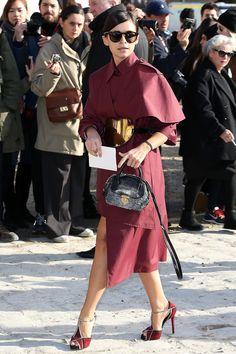 Miroslava Duma - Louis Vuitton Fall 2014 Fashion Show in Paris 5 March 2014