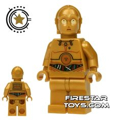 LEGO Star Wars Mini Figure - C-3PO - Wires