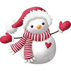 KAagard_WinterWonderland_Snowman4.png ❤ liked on Polyvore featuring christmas, christmas/winter, fotki, snowmen and xmas