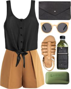 """summer dreaming"" by rosiee22 ❤ liked on Polyvore"