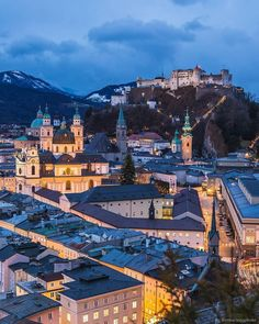 A sophisticated Alpine city with an underrated cultural scene, Salzburg is definitely one to add to your 'winter getaway' list. Purpose Of Travel, Salzburg Austria, Wanderlust, Austria Travel, Ultimate Travel, Travel Abroad, Travel Europe, Best Cities, Travel Inspiration
